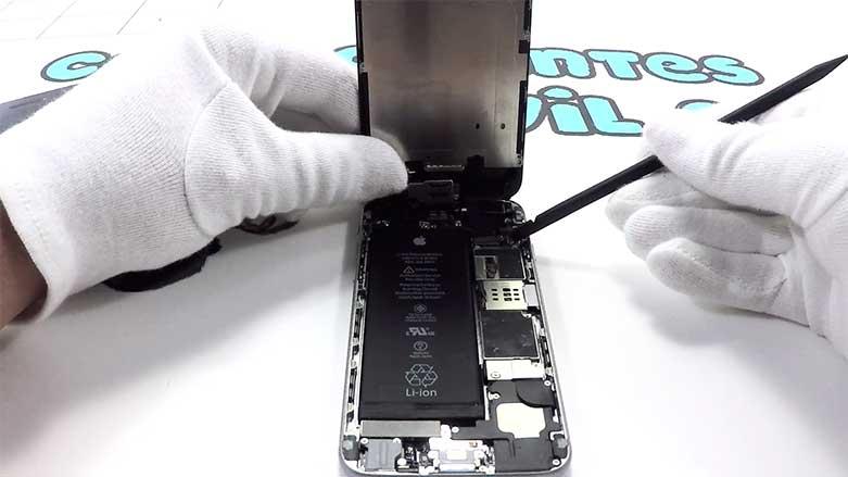 cambiar la pantalla de iphone 6