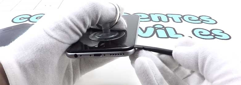 reparar la cámara frontal de iphone 6