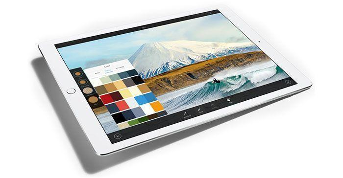 Pantalla Retina iPad Pro