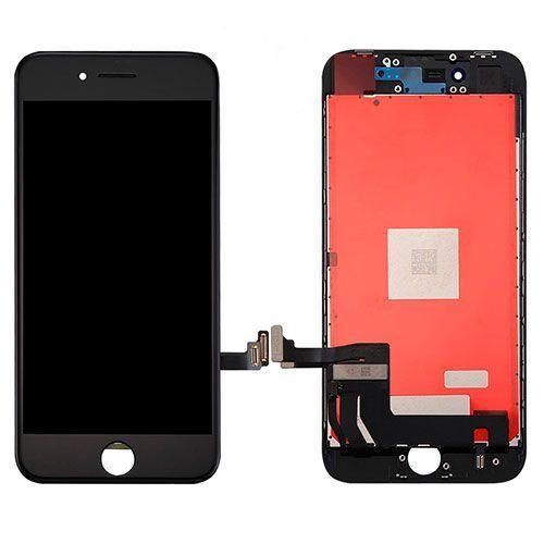 Repuesto de pantalla completa negra iPhone 8