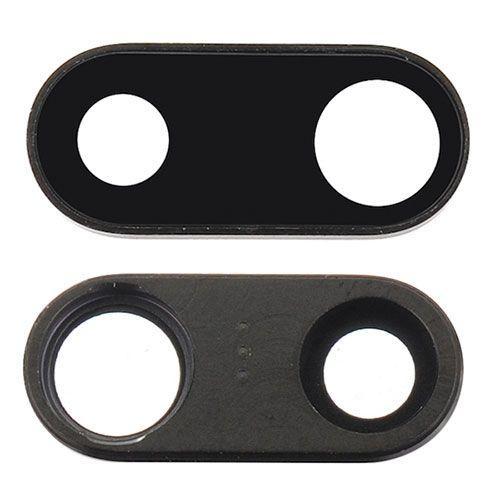 repuesto de cristal de lente de cámara trasera para iphone 7 plus